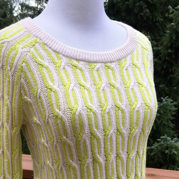 Willow Clay Sweaters Willow Clay Designer Cable Knit Pullover